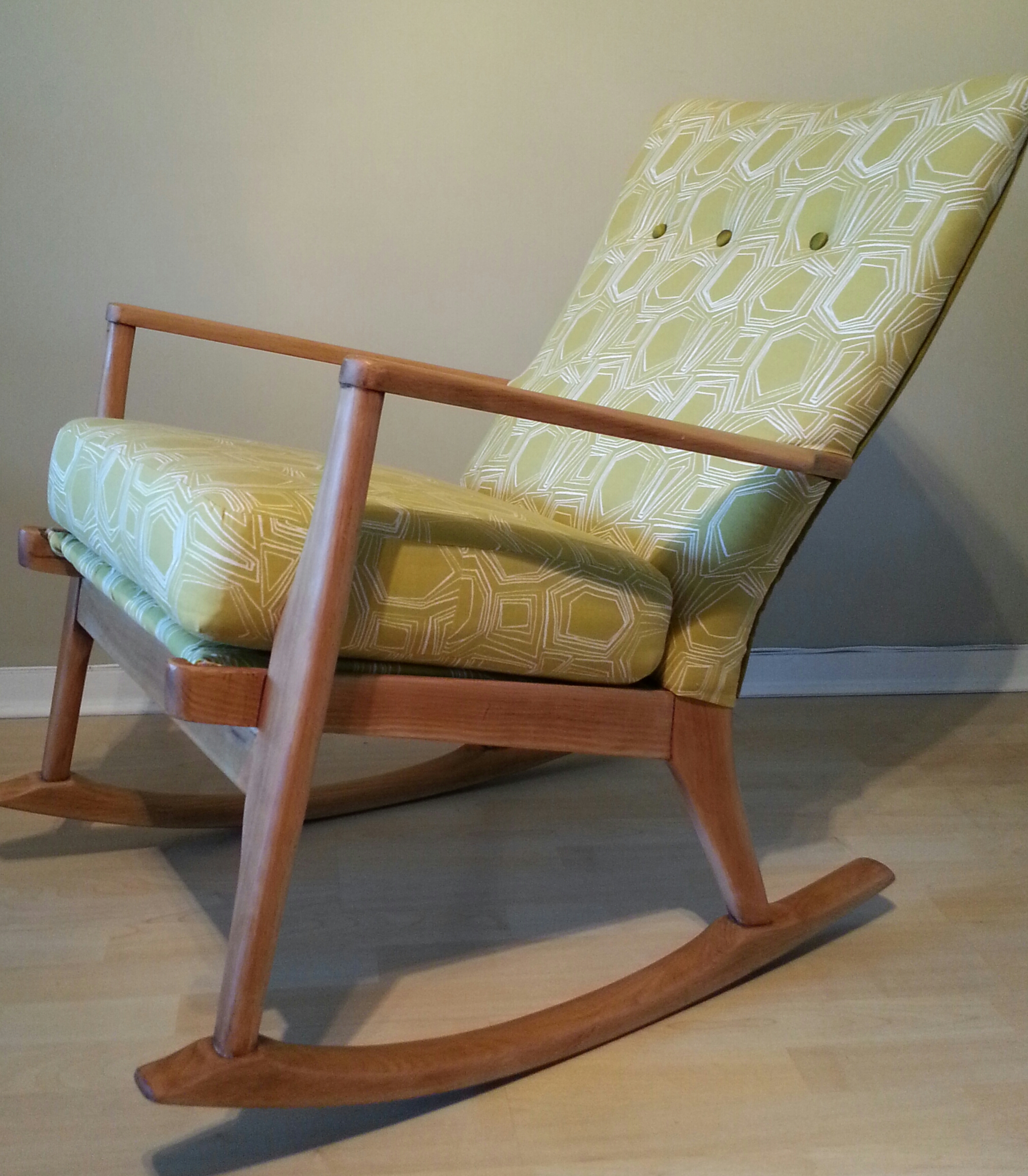 Terrific Mid Century Modern Parker Knoll Rocking Chair Urban Chair Machost Co Dining Chair Design Ideas Machostcouk